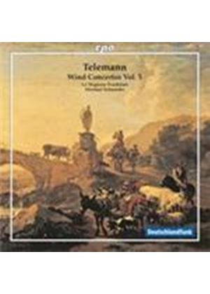 Telemann: Wind Concertos, Vol 5 (Music CD)