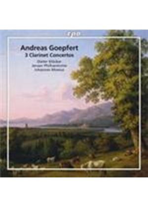 Goepfert: (3) Clarinet Concertos (Music CD)