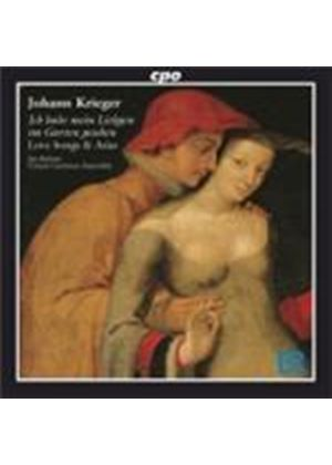 Krieger: Love Songs and Arias (Music CD)