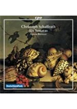 Schaffrath: Six Sonatas (Music CD)