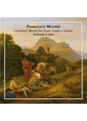 Molino: Chamber Works for Flute, Violin & Guitar (Music CD)