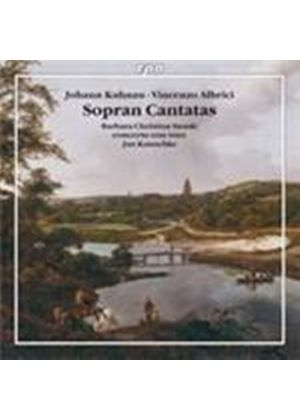 Kuhnau: Cantatas and Arias for Soprano (Music CD)