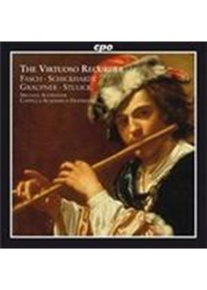 Virtuoso Recorder: Concertos of the German Baroque (Music CD)