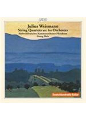Weismann: String Quartet (Music CD)