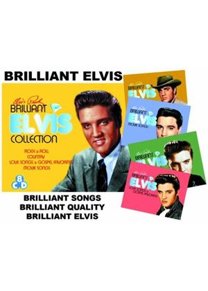 Elvis Presley - Brilliant Elvis (The Collection) (Music CD)