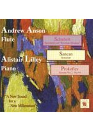 Schubert/Sancan/Prokofiev - New Sound For A New Millennium (Anson-Flute/Lilley-Piano) (Music CD)
