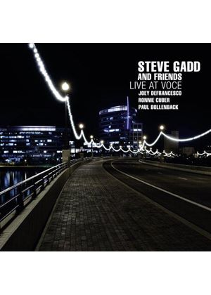 Steve Gadd - Live at Voce (Live Recording) (Music CD)