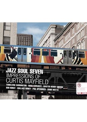 Jazz Soul Seven - Impressions of Curtis Mayfield (Music CD)