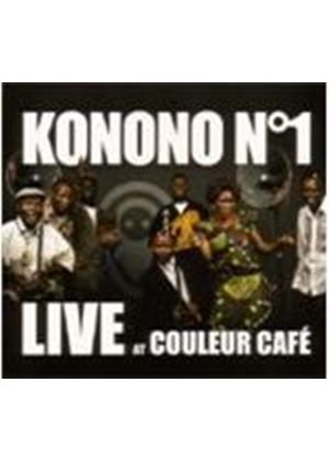 KONONO NO 1 - LIVE AT COULEUR CAFE