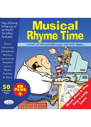 Various Artists - Musical Rhyme Time CD+ (Music CD)