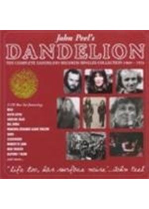 Various Artists - John Peels Dandelion - The Complete Singles 1969 - 1972 (Music CD)