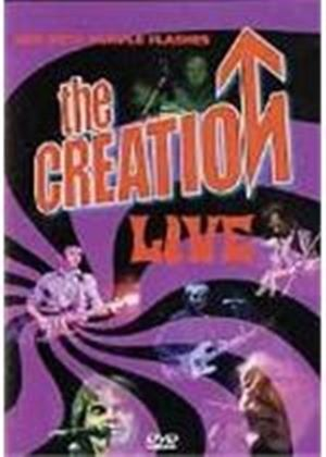 The Creation Live - Red With Purple Flashes