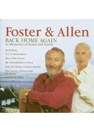 Foster And Allen - Back Home Again (Music CD)