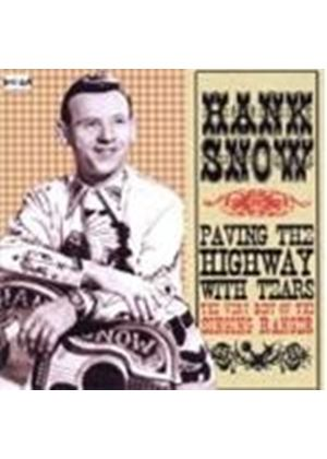Hank Snow - Paving The Highway With Tears (Music CD)