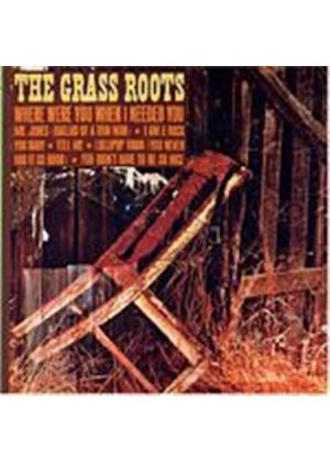 The Grass Roots - Where Were You When I Needed You (Music CD)