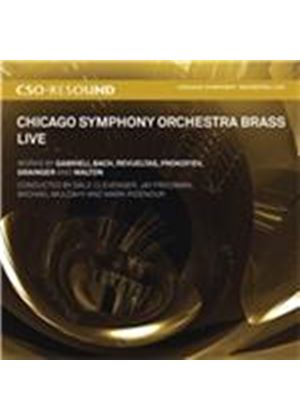 Chicago Symphony Orchestra Brass: Live (Music CD)