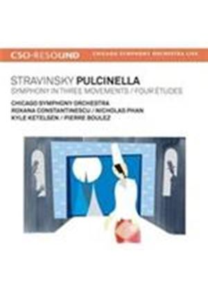 Stravinsky: Pulcinella; Symphony in Three Movements (Music CD)