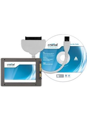 Crucial Technology 128GB M4 Slim Solid State Drive 7mm SATA 6Gb/s with Data Transfer Kit