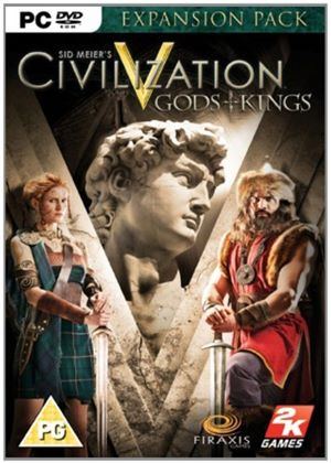 Civilization V Gods and Kings (PC DVD)
