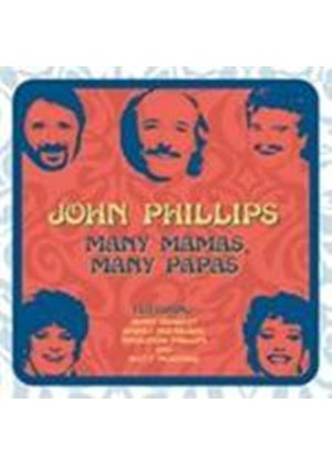 John Phillips - Many Mamas Many Papas (Music CD)