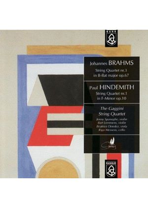 Brahms/Hindemith - String Quartets [Benelux Import]