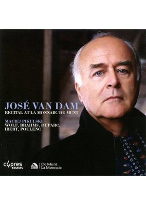 Jose van Dam Recital at La Monnaie / De Munt, 1997 (Music CD)