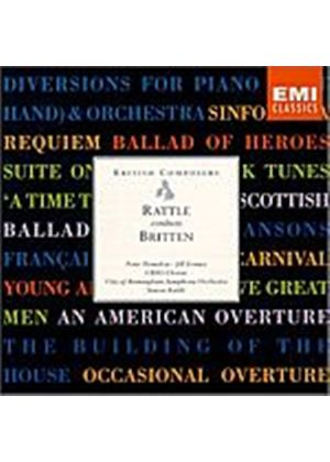 Simon Rattle - Rattle Conducts Britten (Music CD)