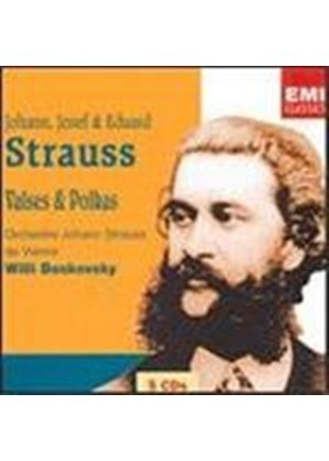 Strauss - WALTZES & POLKAS 5CD