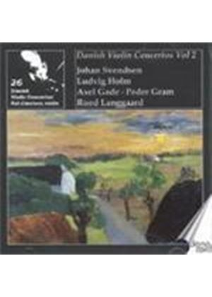 Danish Violin Concertos Vol.2 (Music CD)