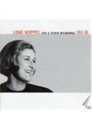 Lone Koppel - Live And Studio Recordings 1963 - 86 [Danish Import]