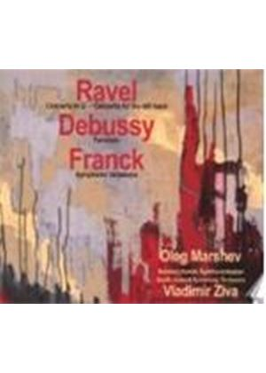 Debussy; Franck; Ravel: Piano Works (Music CD)