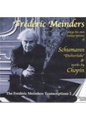 Chopin;Schumann: Piano Transcriptions Vol 2 (Music CD)