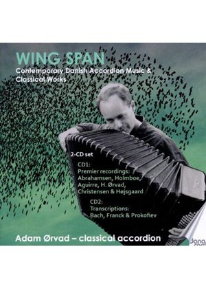 Wing Span: Contemporary Danish Accordion Music & Classical Accordion Works (Music CD)