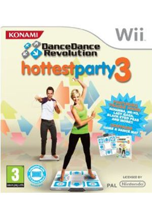 Dance Dance Revolution: Hottest Party 3 (includes Dance Mat) (Wii)