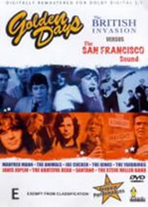 Golden Days - The British Invasion Vs. The San Francisco Sound (Various Artists)
