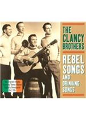 Clancy Brothers - Rebel Songs and Drinking Songs (Music CD)