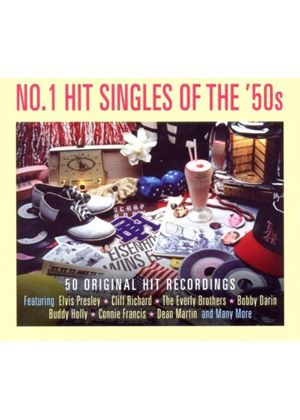 Various Artists - No 1 Hit Singles of the 50's (Music CD)