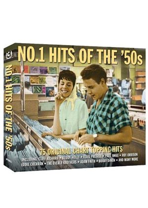 Various Artists - No. 1 Hits of the 50's (Music CD)