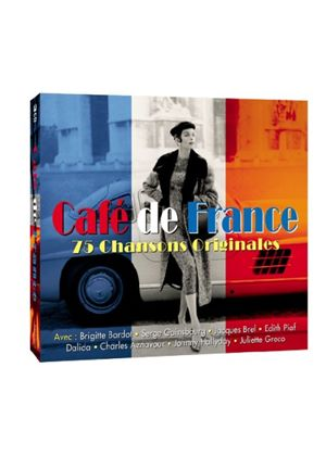Various Artists - Café De France (Music CD)