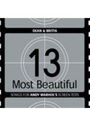 Dean & Britta - 13 Most Beautiful (Songs For Andy Warhol's Screen Tests) (Music CD)