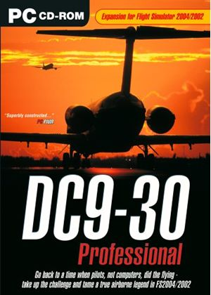 DC9-30 Professional Add-On for FS 2002/2004 (PC CD)