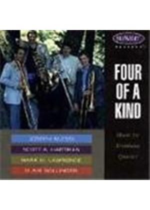 Four of a King: Music for Trombone Quartet