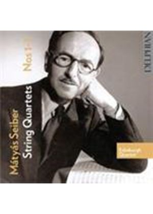 Seiber: String Quartets Nos 1 - 3 (Music CD)