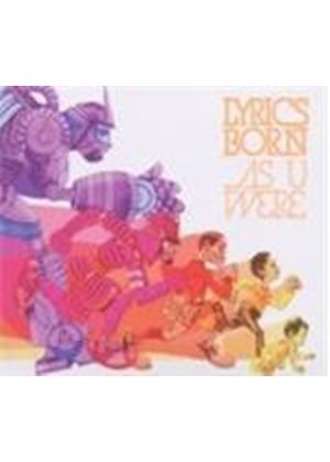 Lyrics Born - As U Were (Music CD)