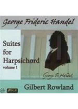 Handel: Harpsichord Suites, Vol 1 (Music CD)