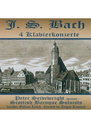 Bach: 4 Klavierkonzerte (Music CD)