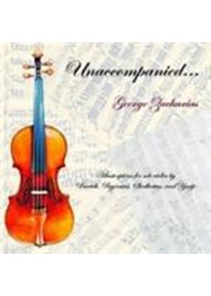 George Zacharias - Unaccompanied (Music CD)