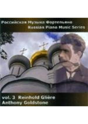 Gliere: Russian Piano Works, Vol 3 (Music CD)