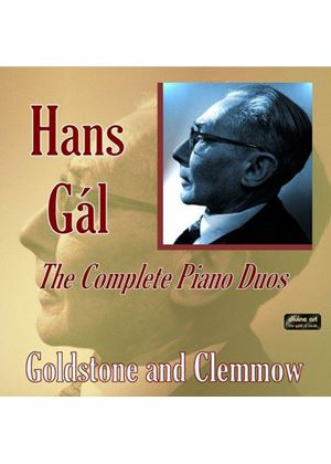 Hans Gál: The Complete Piano Duos (Music CD)