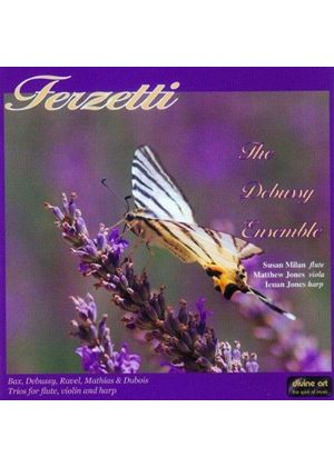 Terzetti: Trios for Flute, Viola and Harp (Music CD)